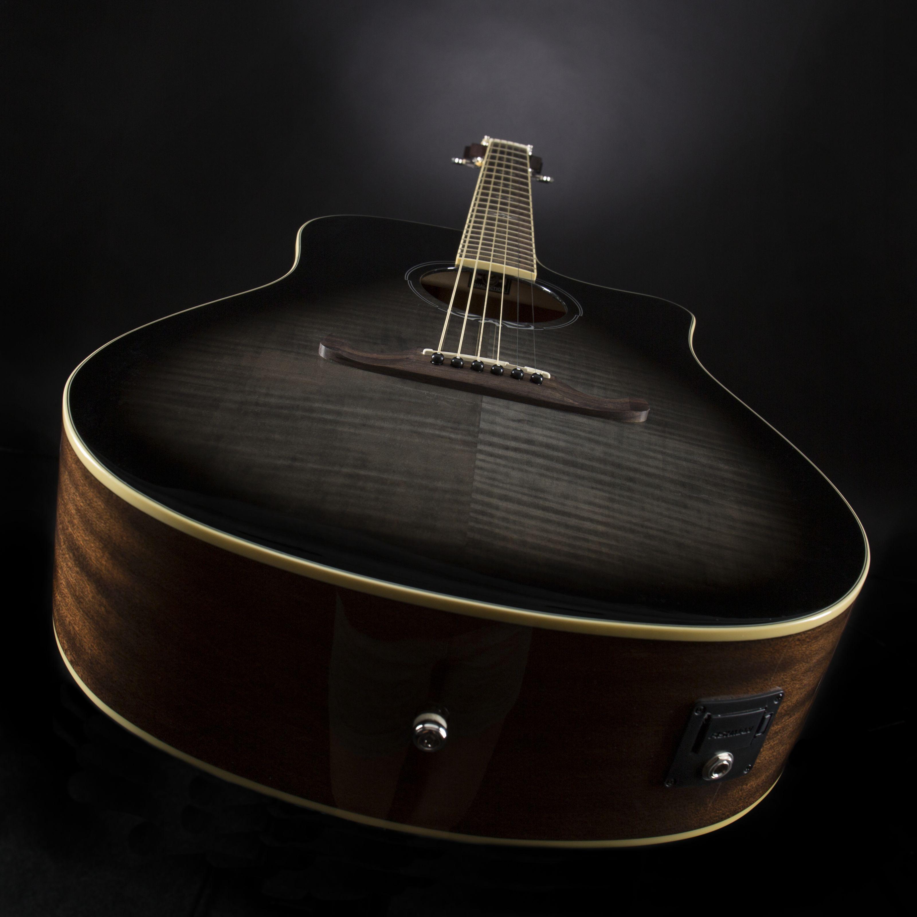 Fender T-Bucket 300CE Flame Maple Moonlight Burst