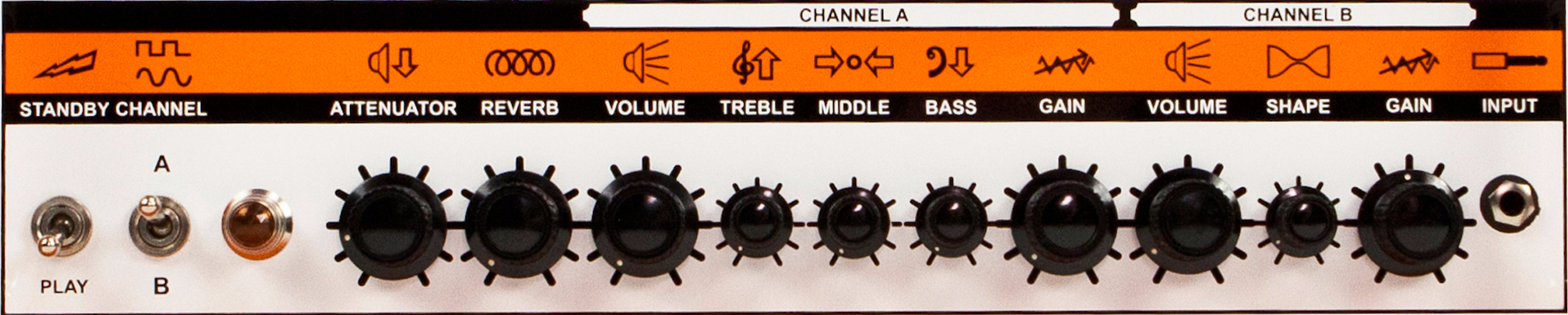 ORANGE Thunderverb 200 White Limited Edition Panel