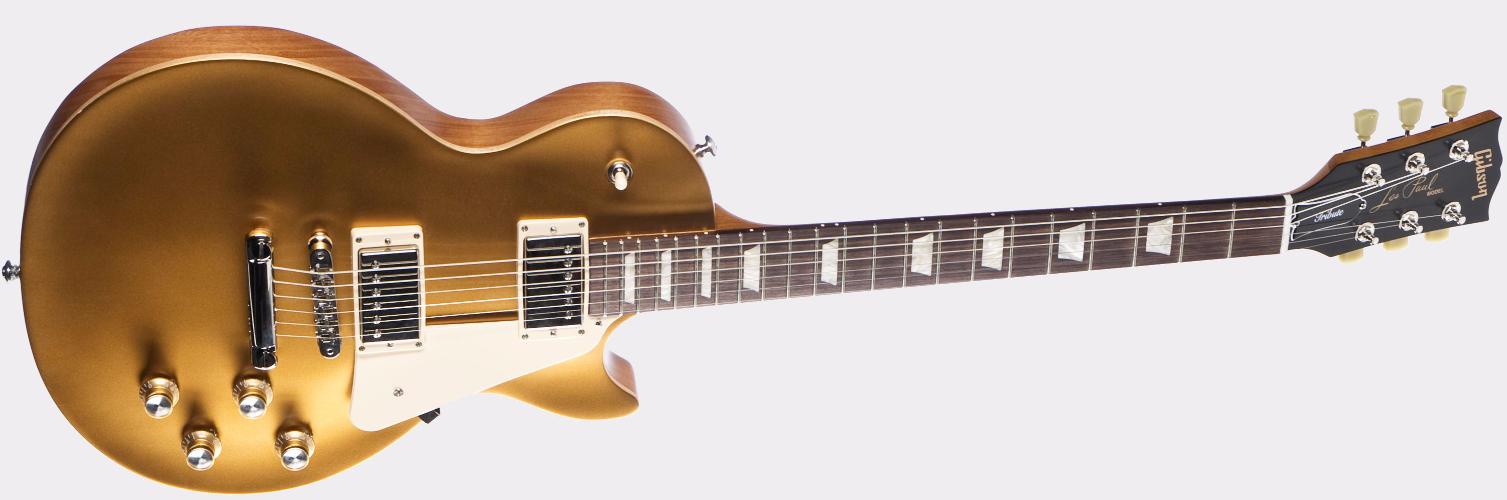 Gibson Les Paul Tribute 2017 T Satin Gold Front