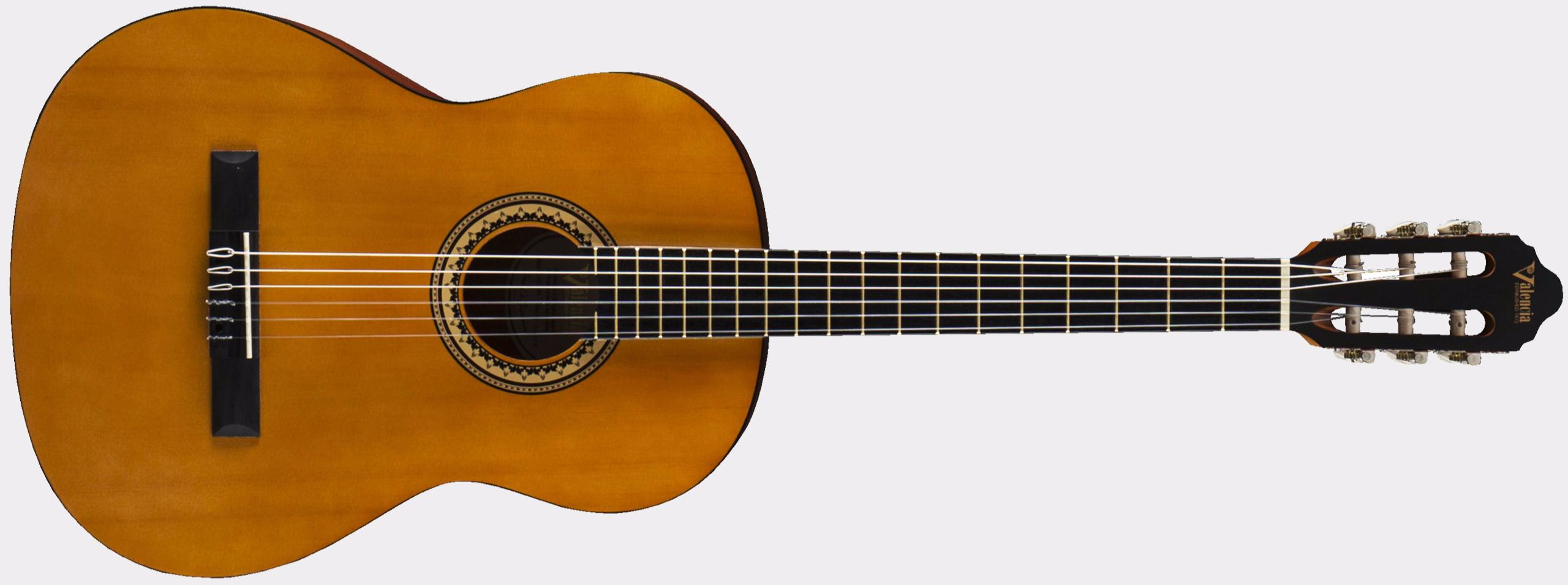 Valencia VC 202 Antique Natural 1//2 Konzertgitarre Fichte//Nato für Einsteiger