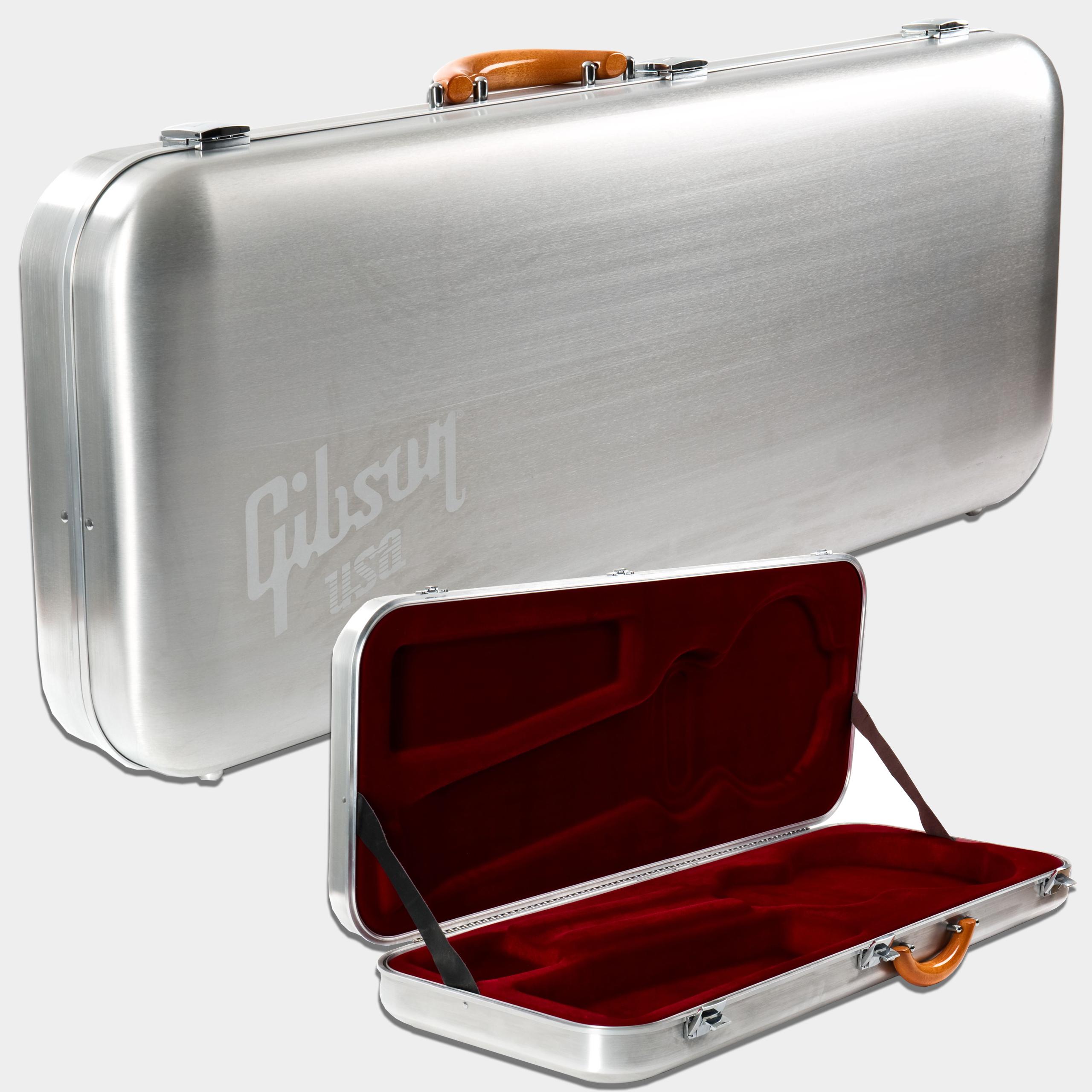 Gibson high performance aluminium case les paul - La case de paul ...