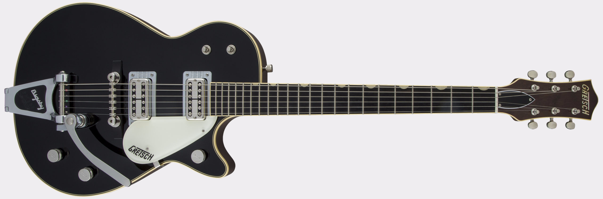 GRETSCH G6128T-59 Vintage Select '59 Duo Jet Bigsby Black