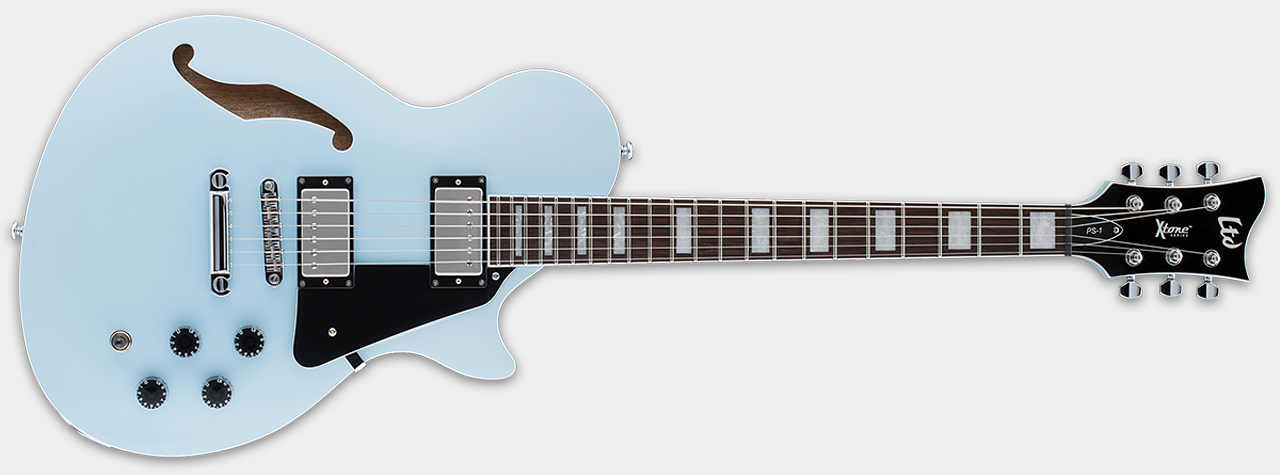 ESP LTD Xtone PS-1 Sonic Blue Front