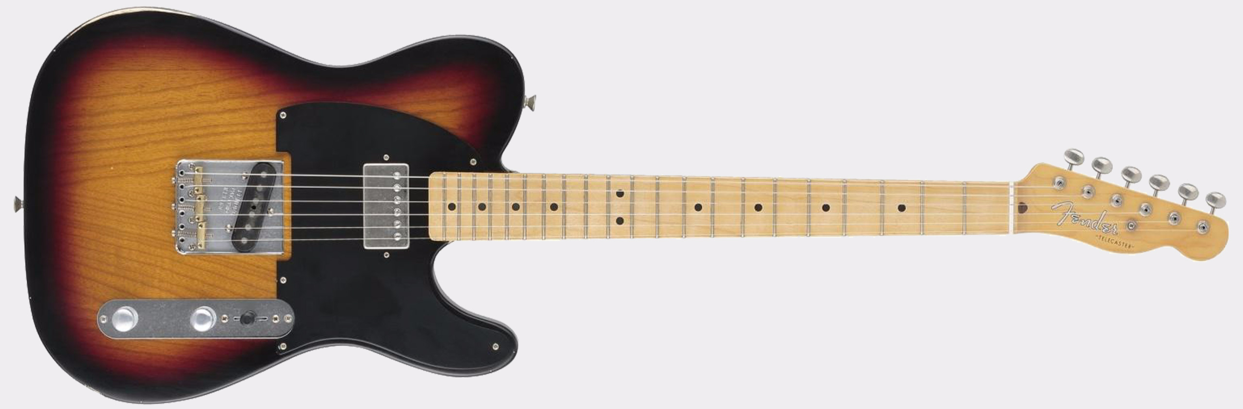 FENDER Special Edition Road Worn Hot Rod Tele MN 3-Tone Sunburst
