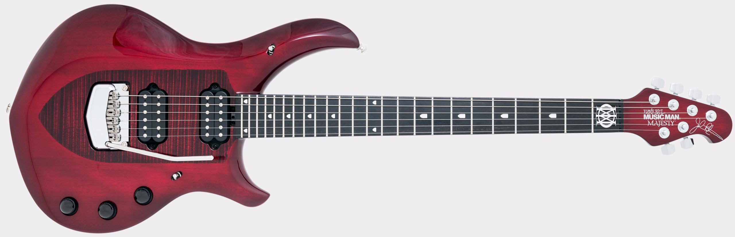 MUSIC MAN John Petrucci Majesty Monarchy Royal Red
