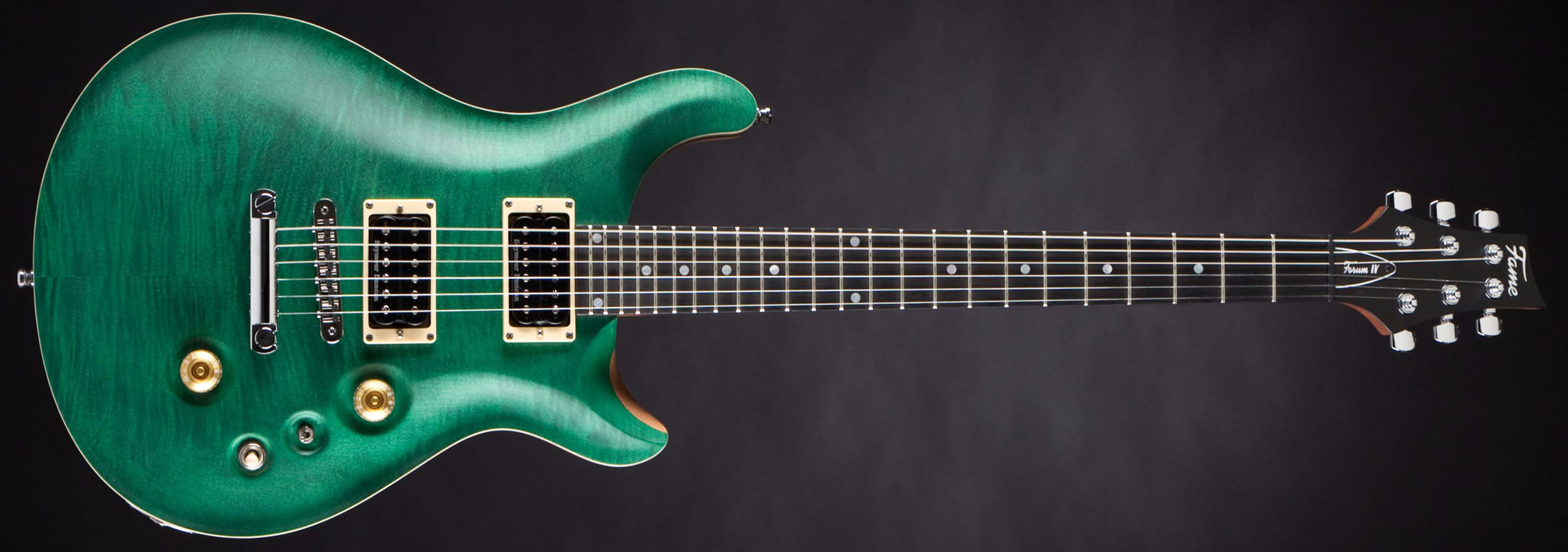 FAME Forum IV Modern Emerald Green Satin