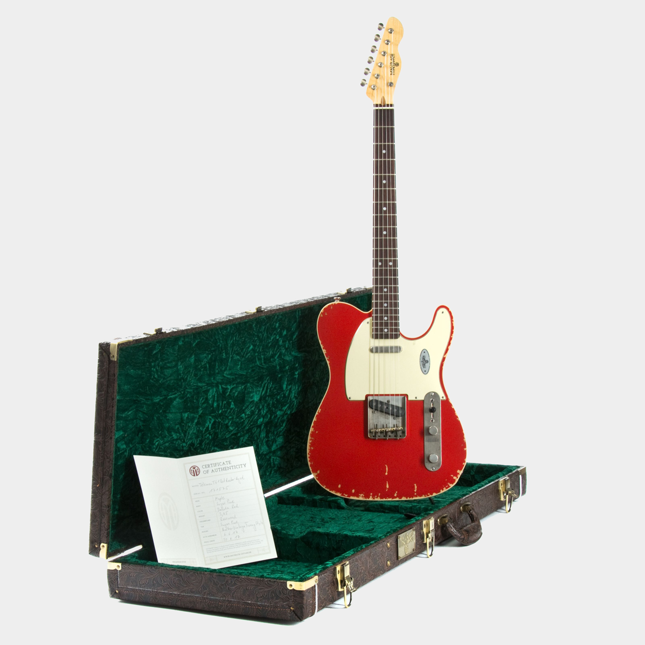 Maybach Teleman T61 Red Rooster Case