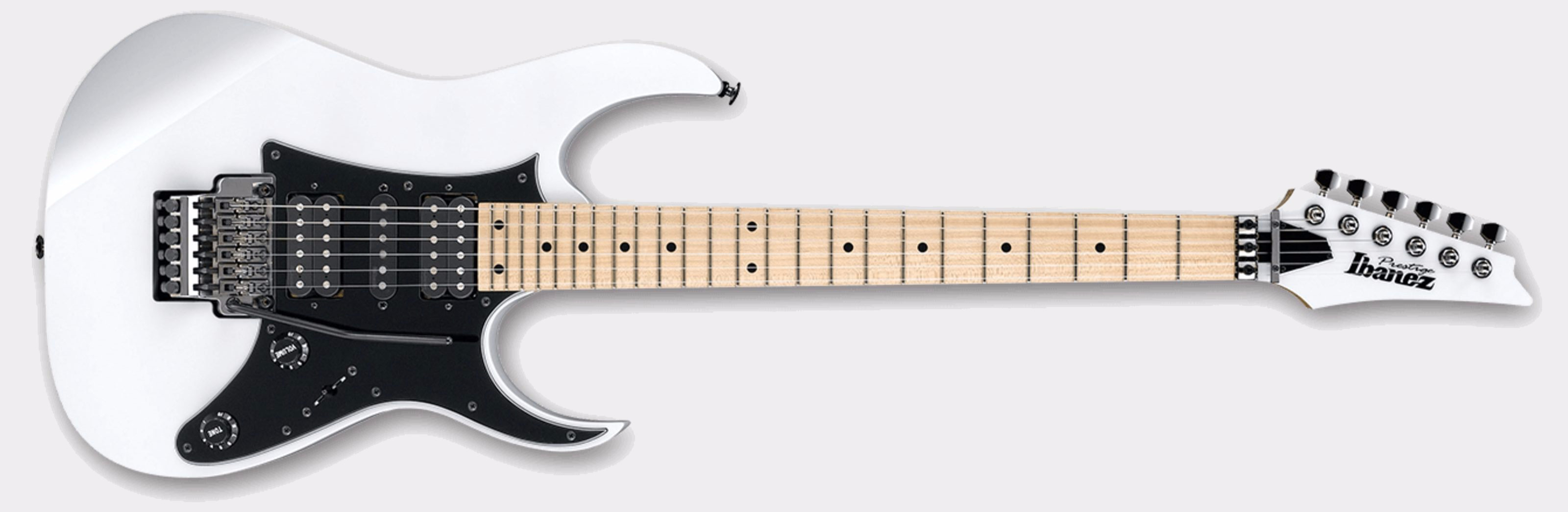 Ibanez Prestige RG655M-WH White Front