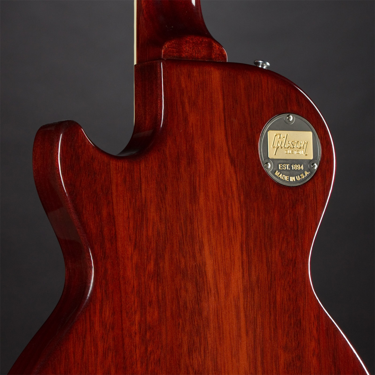 GIBSON Les Paul Special Maple Top Dark Cherry Limited Edition #CS 701579 Rückseite