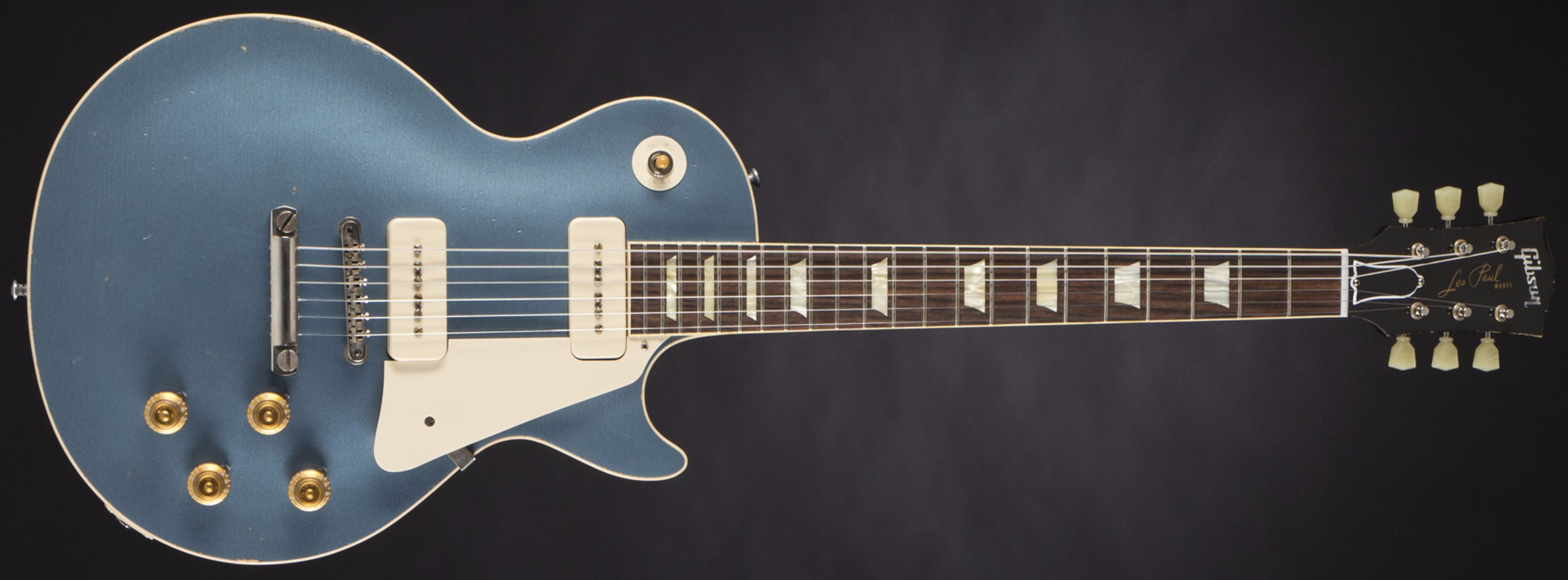 GIBSON 1956 Les Paul Reissue Heavy Aged Pelham Blue #64316