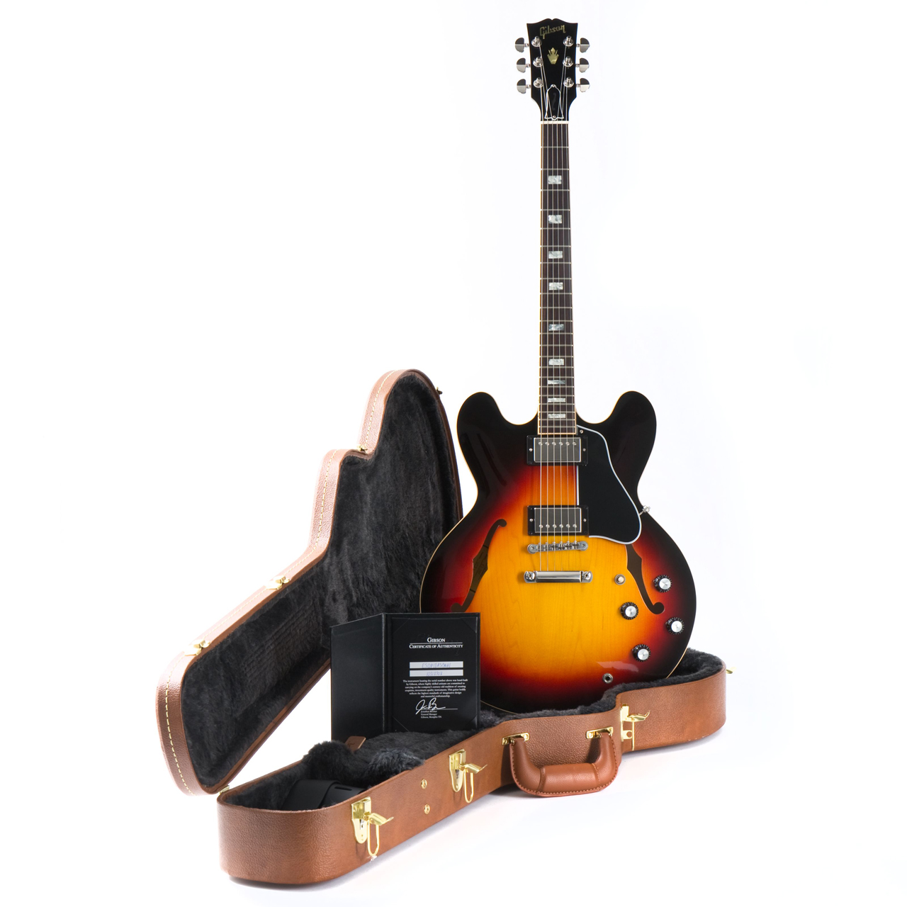 Gibson ES-335 Traditional 2018 Antique Sunburst 10318708 Case