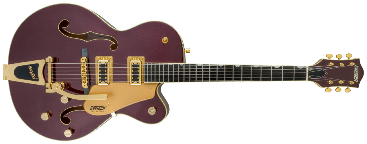 GRETSCH G5420TG Electromatic 135th Anniversary LTD Bigsby Dark Cherry/Casino Gold