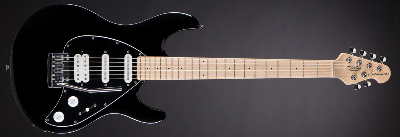 STERLING BY MUSIC MAN Silhouette Silo3 Black