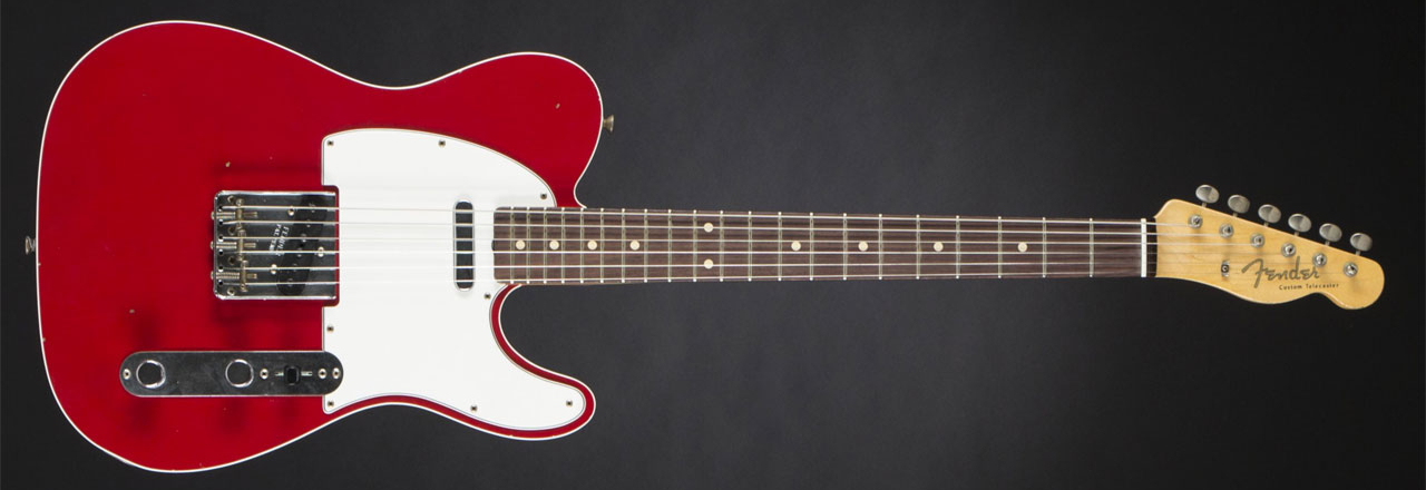 FENDER '60 Telecaster Custom RW Journeyman Relic Dakota Red #R89224
