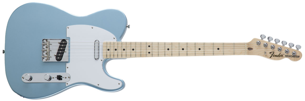 FENDER Japan Traditional '70s Tele MN Blue Ice Metallic