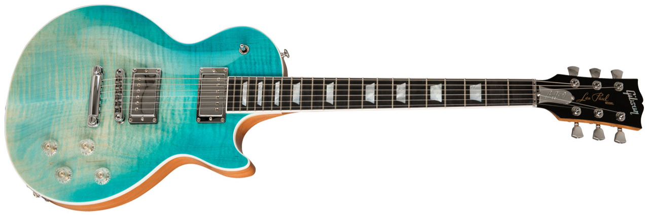 GIBSON Les Paul High Performance 2019 Seafoam Fade