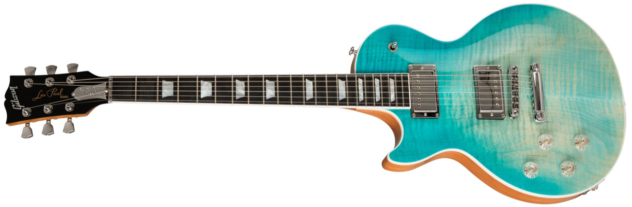 GIBSON Les Paul High Performance 2019 Lefthand Seafoam Fade