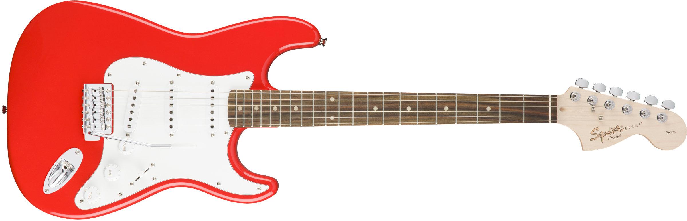 Squier Affinity Strat IL Race Red Front