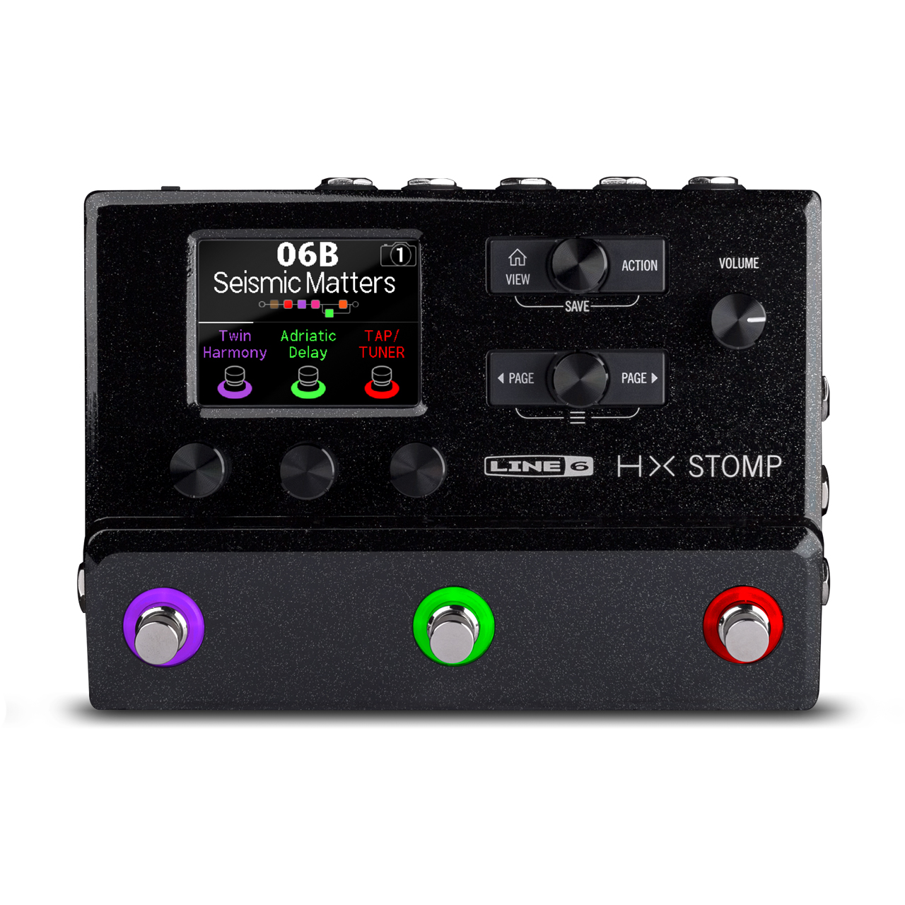 Line 6 HX Stomp Display