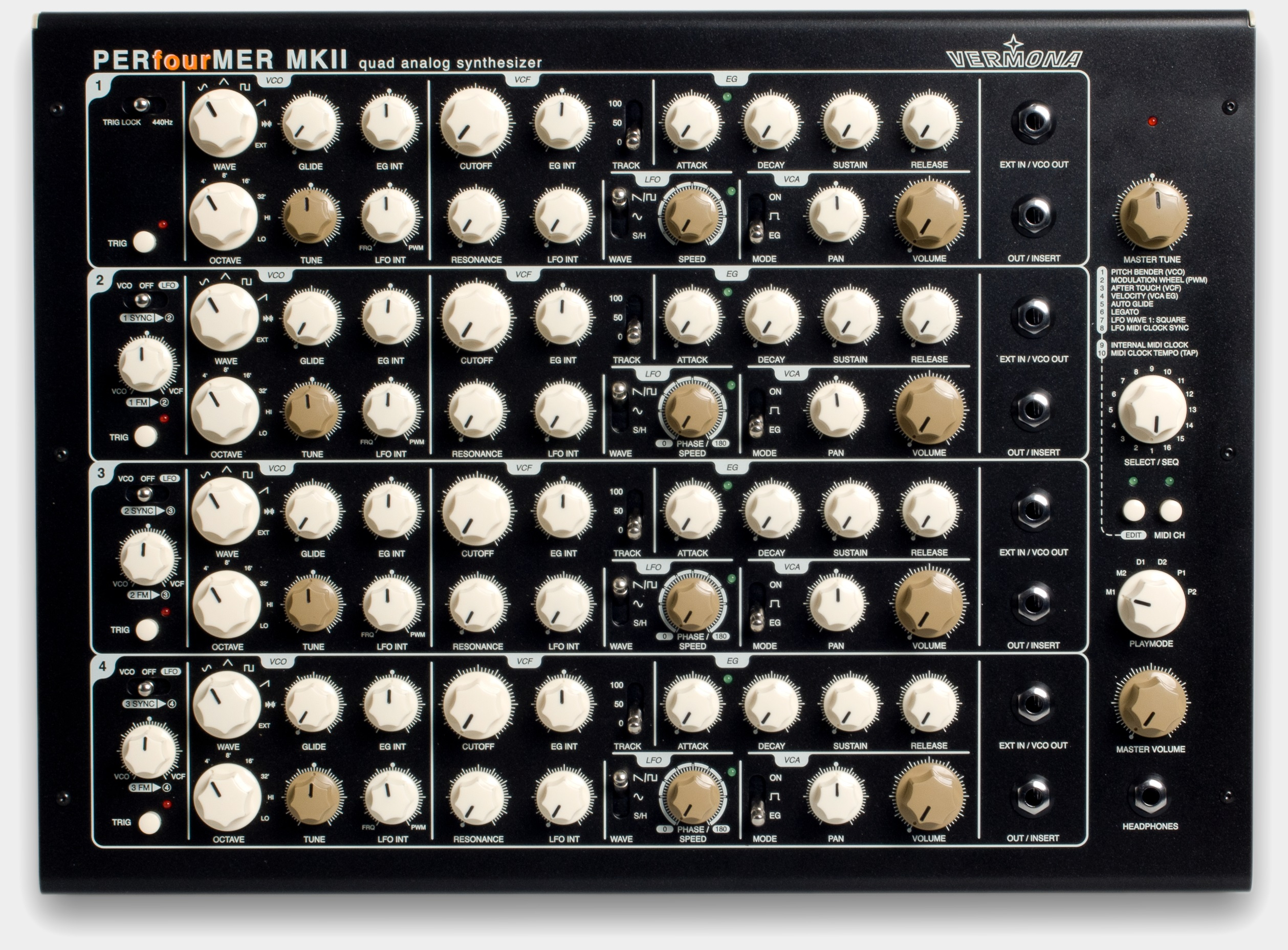 Vermona-PERfourMER-MKII-Analog-Synthesizer-p4m-CV-Gate