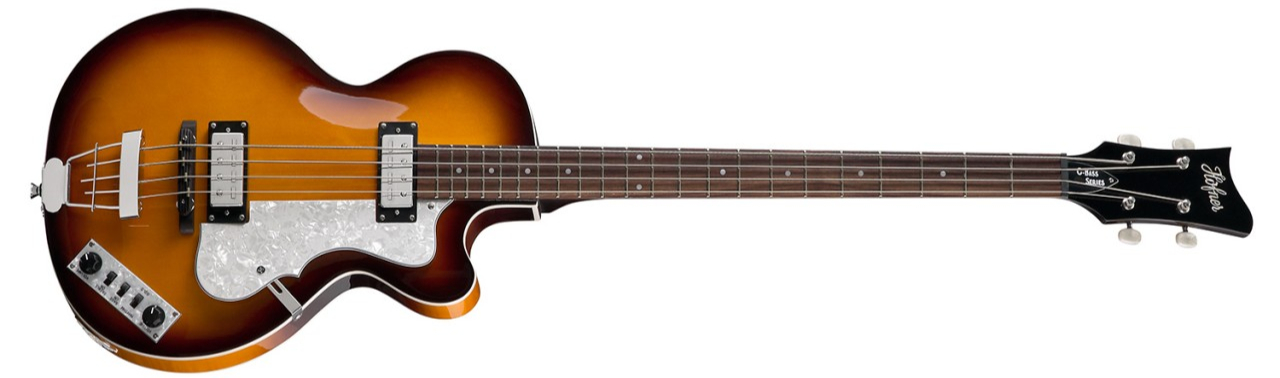 Höfner Ignition Club Bass SB Sunburst