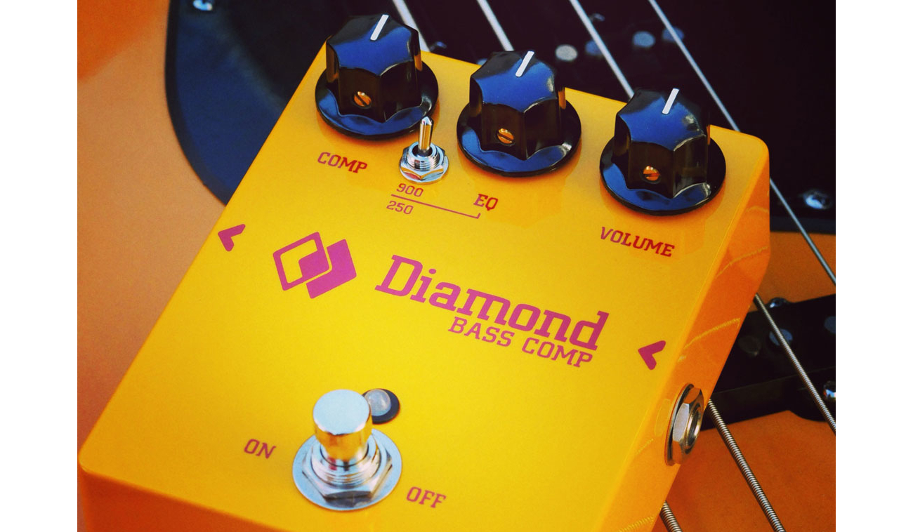 Diamond Effect Pedals Bass Comp