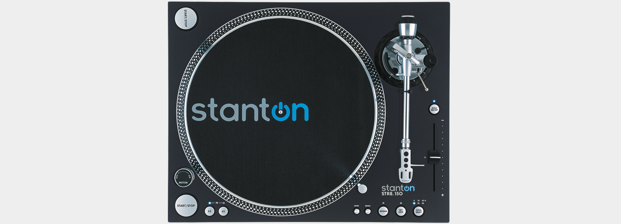 Stanton STR8-150 High Torque DJ Turntable