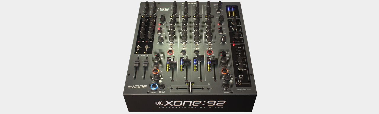 Allen & Heath XONE:92 Professional Club / DJ Mixer