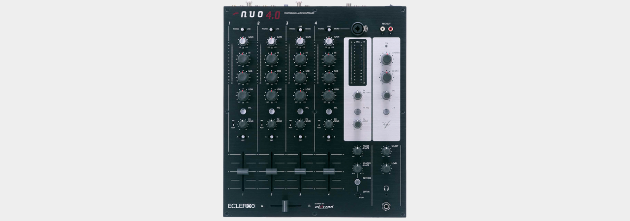Ecler  NUO 4.0 individual item 4-Channel DJ-Mixer