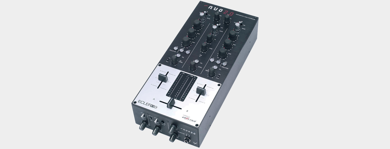 Ecler Nuo 2.0 - 2-Channel DJ-Mixer