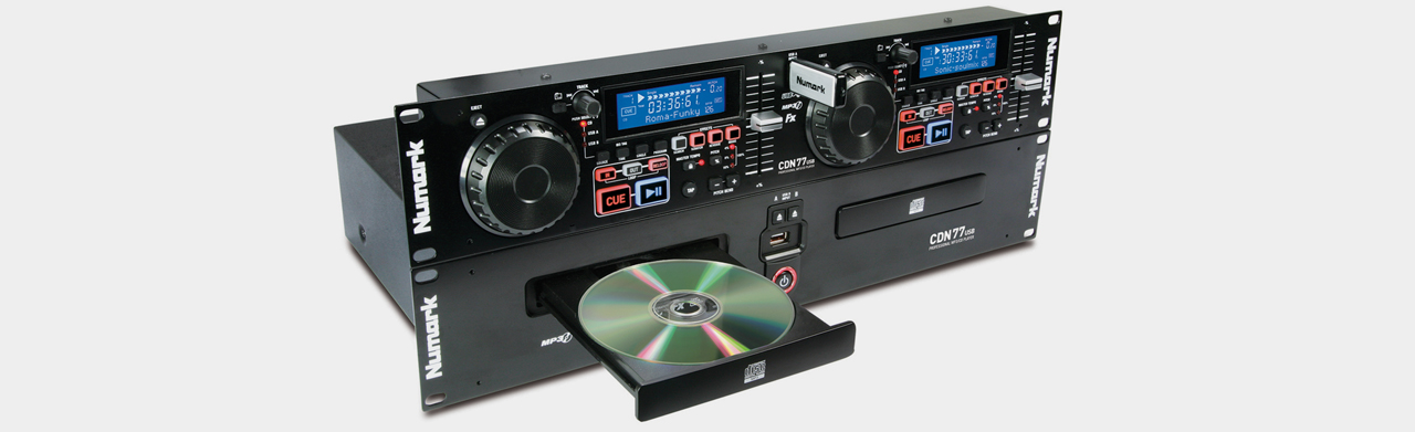 Numark CDN77 USB DJ Media Player