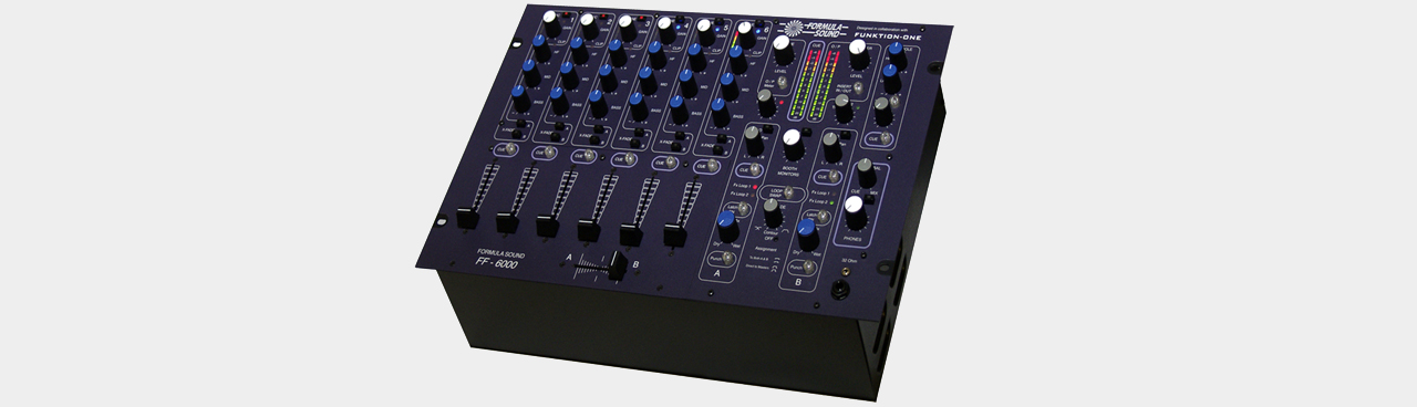 Formula Sound FF-6000 High-End Club-Mixer