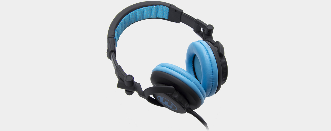 Fame - hD-1000 DJ Headphone black-blue