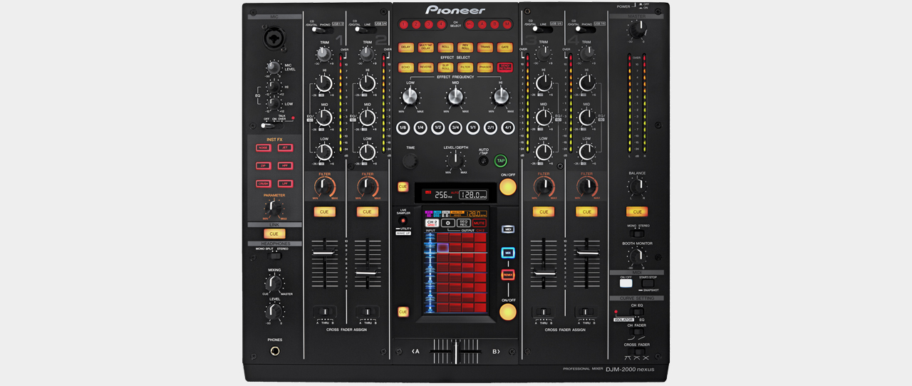 Pioneer - DJM-2000nexus Digital Mixer