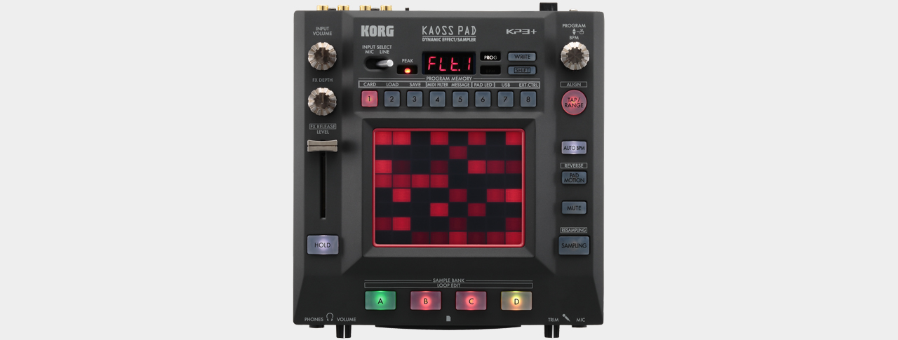 Korg - Kaoss Pad KP3+ Dynamic Effect/Sampler