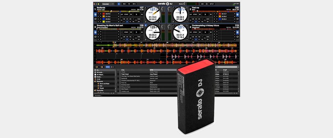 Serato DJ Software (Box) - Upgrade für Serato Intro