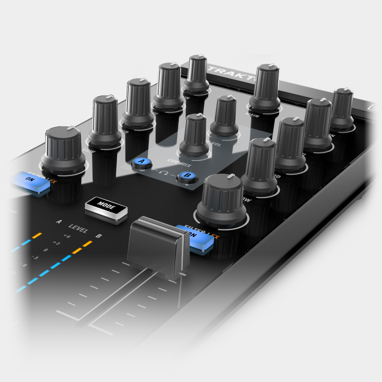 Native Instruments Traktor Kontrol Z1 / EQs, Filter und Cue-Sektion