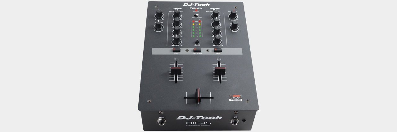 DJ TECH - DIF-1S Battle-Mixer with INNOfader