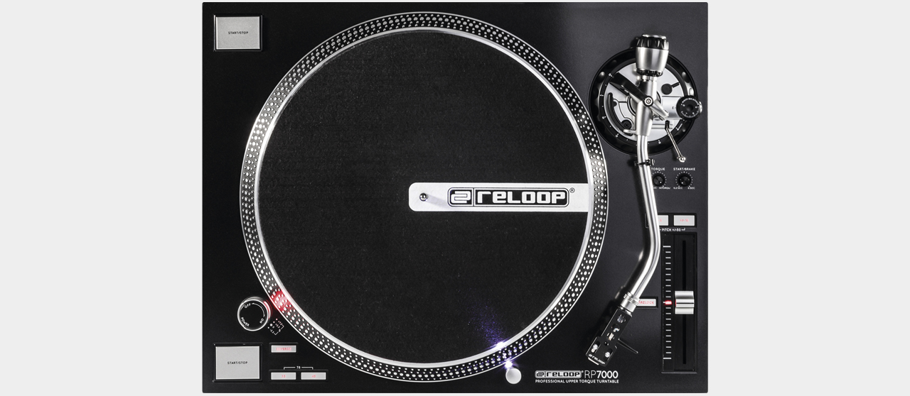 Reloop RP-7000 - Professional High-TorqueTurntable