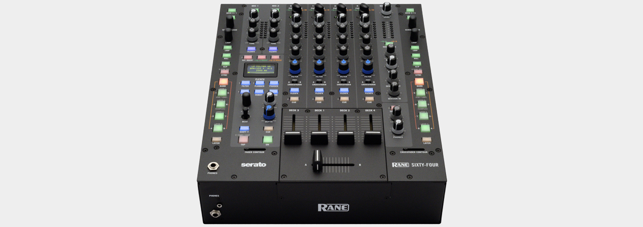 Rane SIXTY-FOUR 4-Channel Clubmixer incl. Serato DJ Software