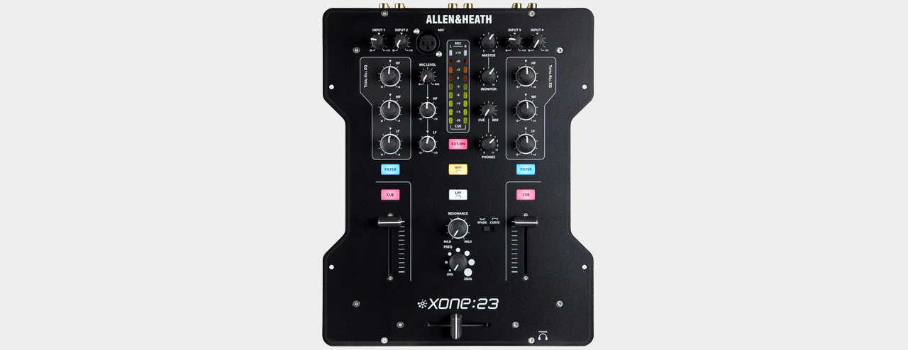 Allen&Heath Xone:23 2-Channel DJ-Mixer
