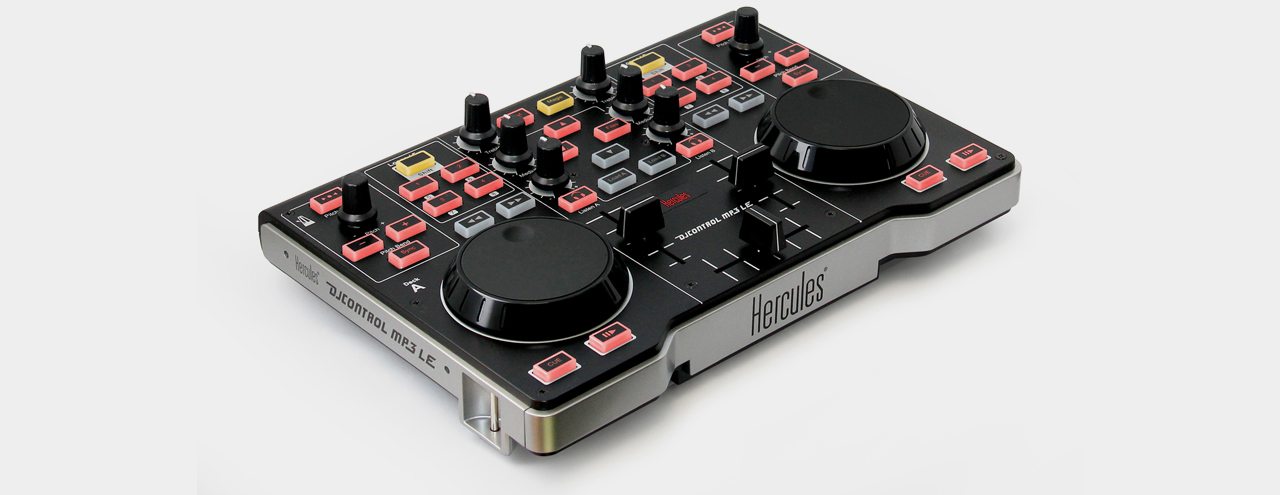 hercules dj control mp3 le music store professional. Black Bedroom Furniture Sets. Home Design Ideas