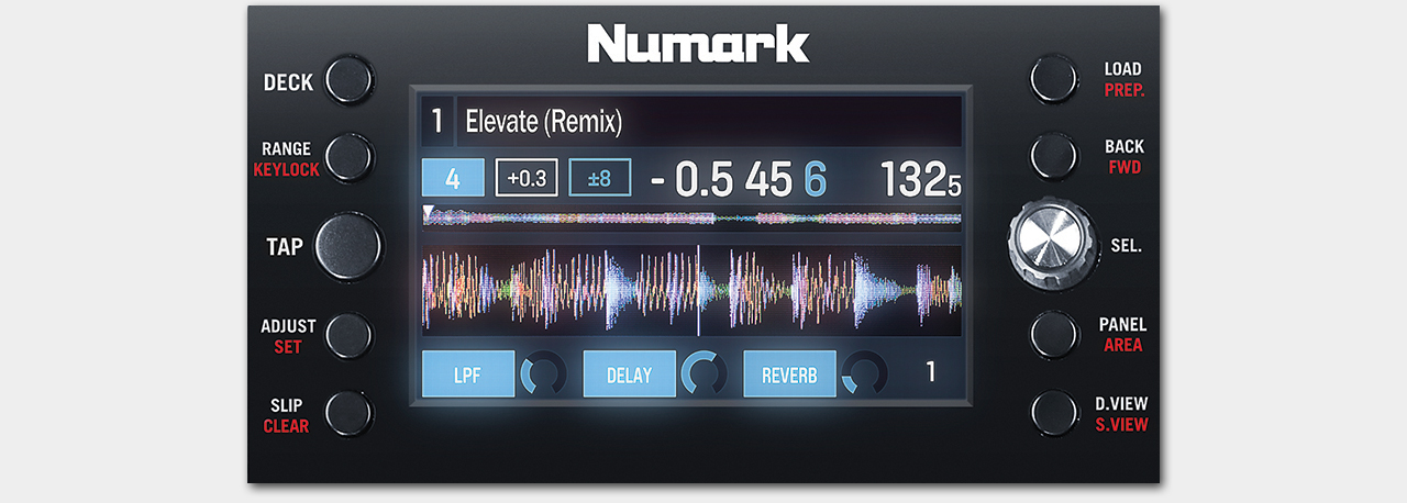 Numark NV / Display
