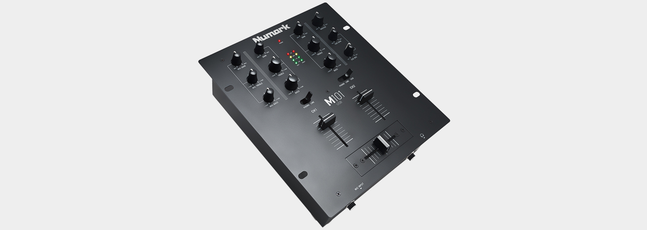 Numark M101 USB Black - 2-Channel Mixer