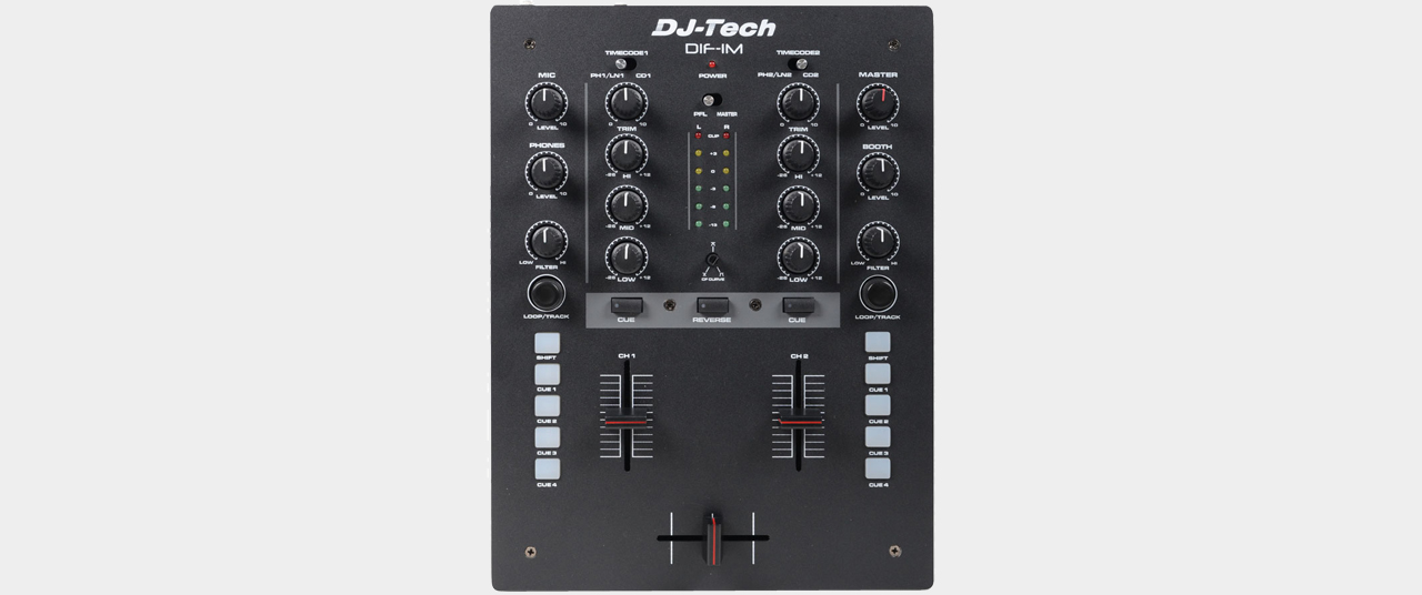 DJ-Tech DIF-1M 2-Channel DJ-Mixer with INNOfader