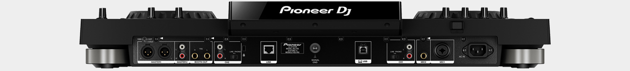 Pioneer XDJ-RX / Back-View