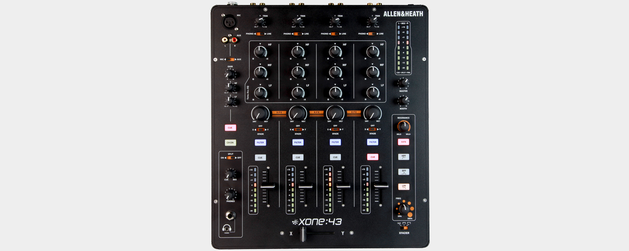 Allen & Heath Xone:43 - 4+1-Kanal Mixer