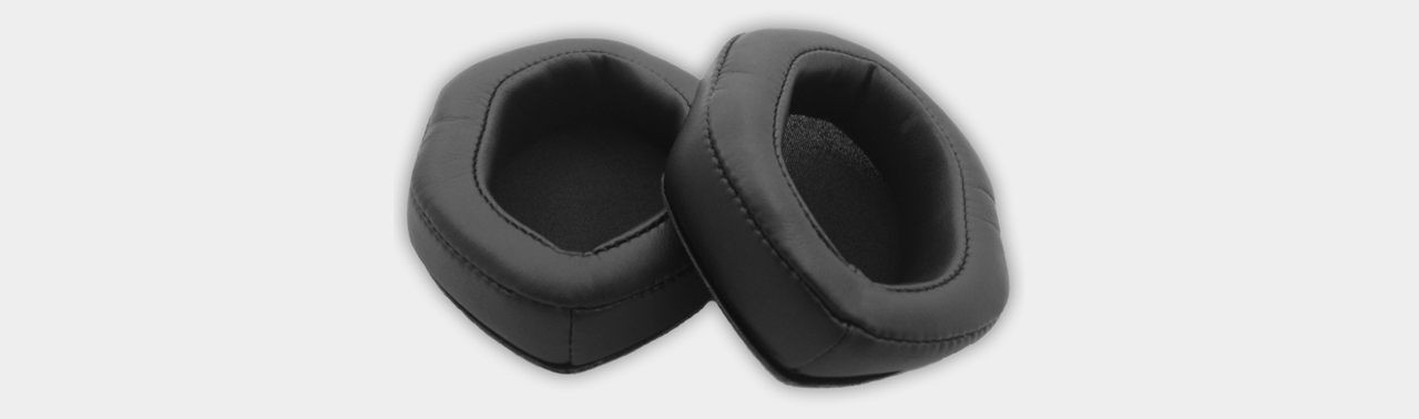 V-Moda XL Memory Cushions black