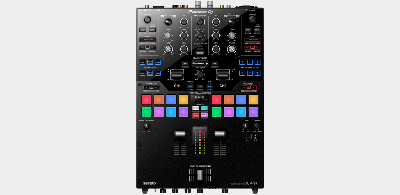 Pioneer DJM-S9 2-Channel Battlemixer for Serato