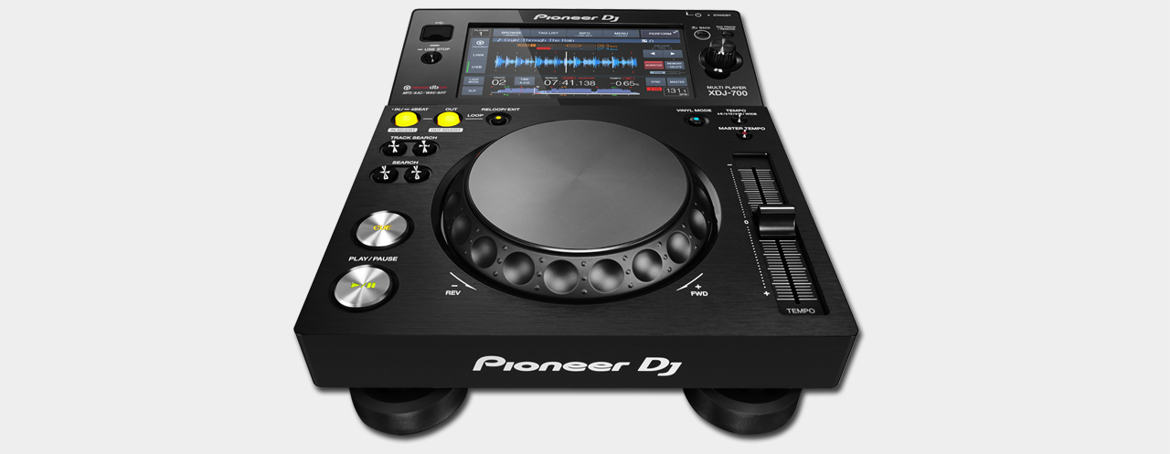 Pioneer - XDJ-700 Rekordbox-Player